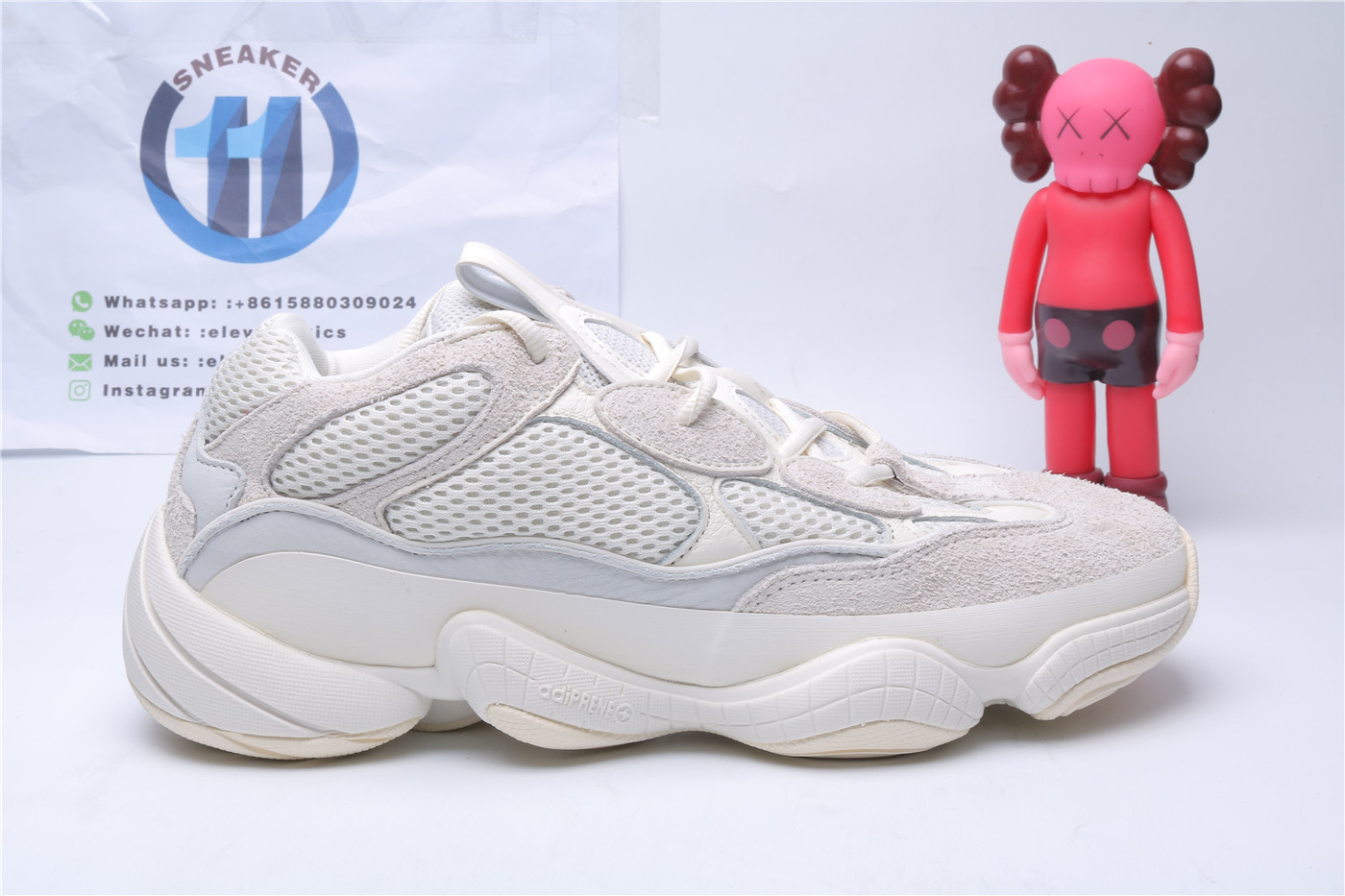 Adidas Yeezy 500 Bone White FV3573,All Products : Eleven Kicks, Eleven Kicks