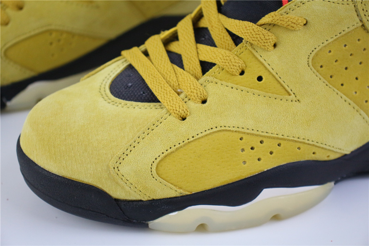 Air Jordan 6 Wheat Yellow