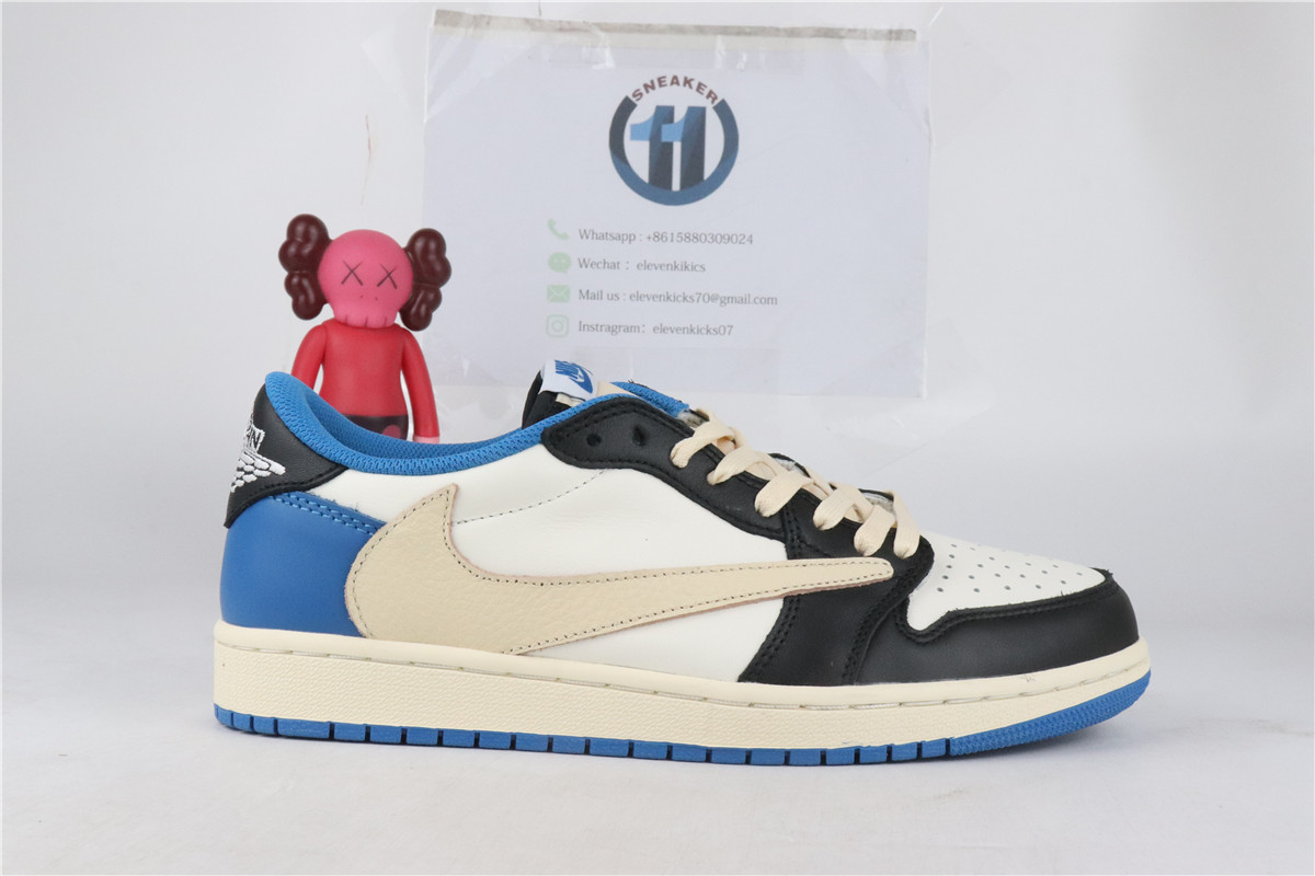 Nike low fragment Travis Scott Air Jordan 1