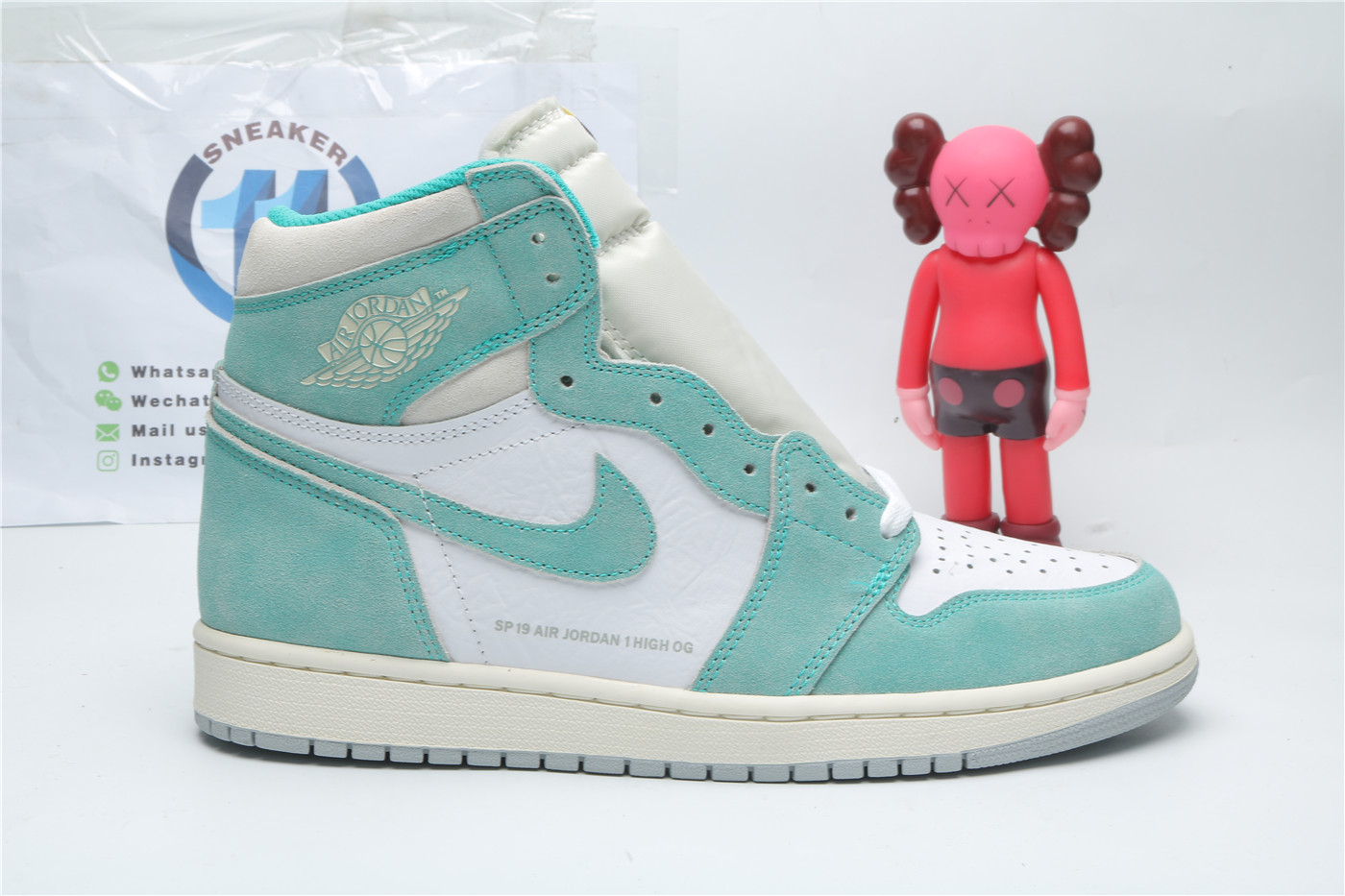 Nike Air Jordan 1 Retro High Turbo Green