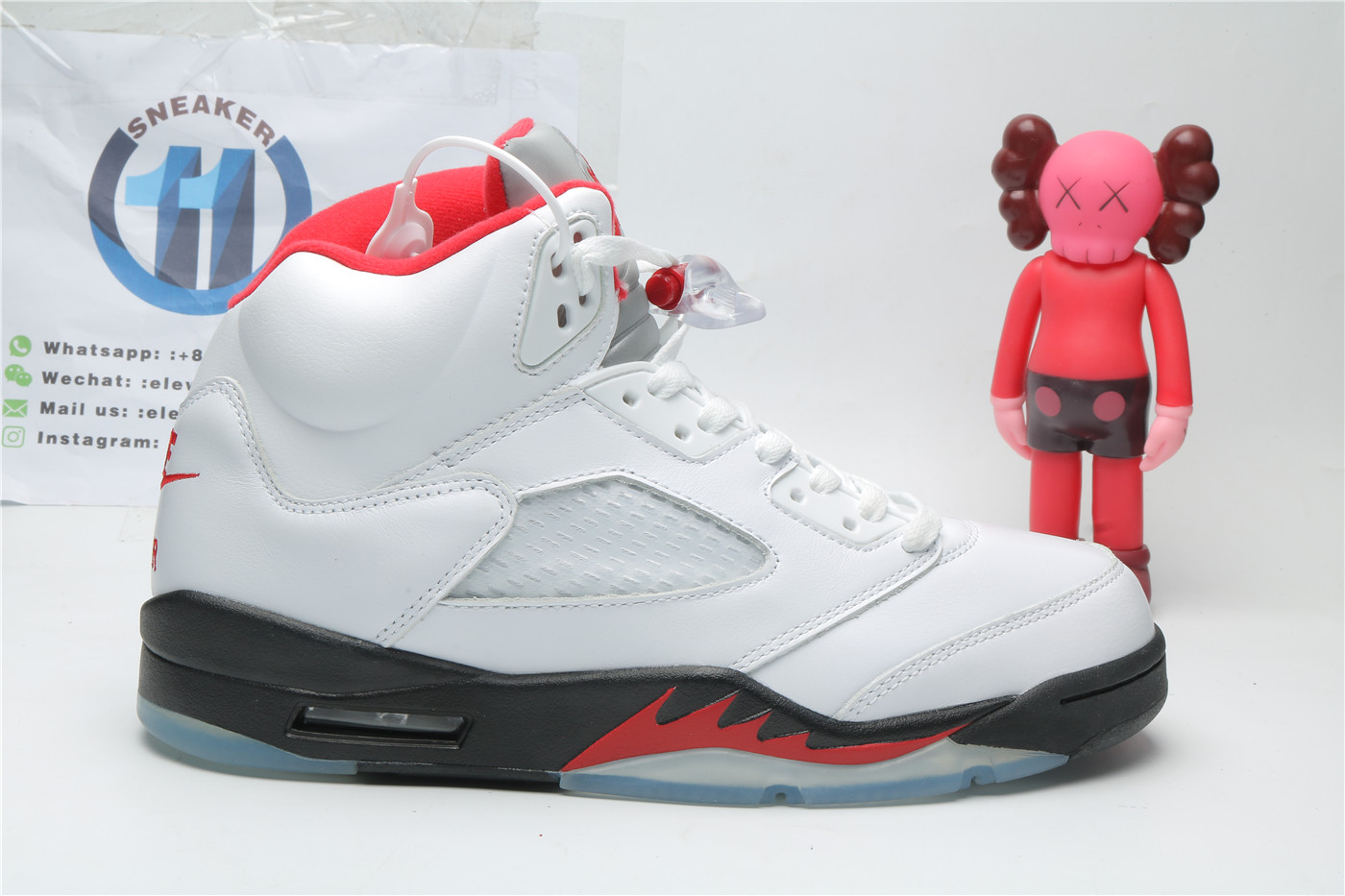 Jordan 5 Retro Fire Red Silver Tongue 2020