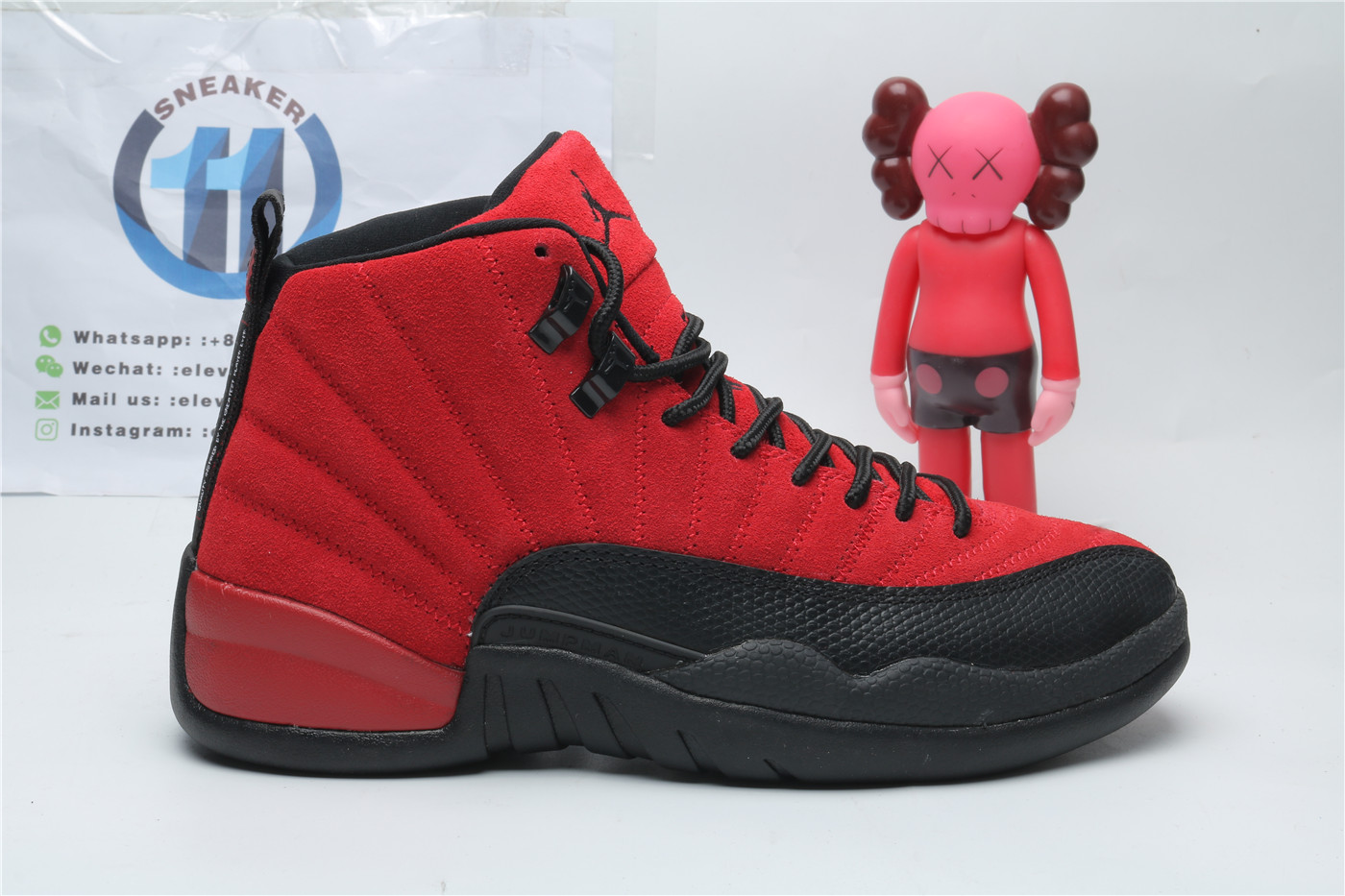 Air Jordan 12 Reverse Flu Game