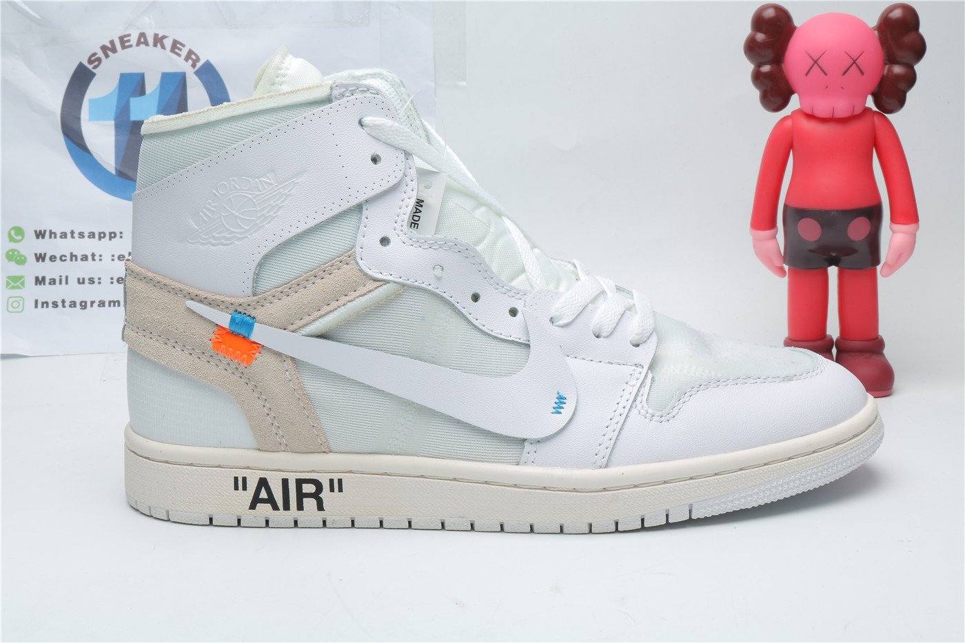Air Jordan 1 Retro High Off-White White