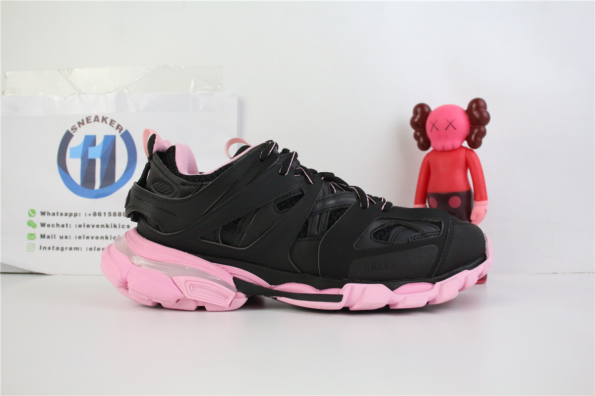 Balenciaga Track Black And Pink