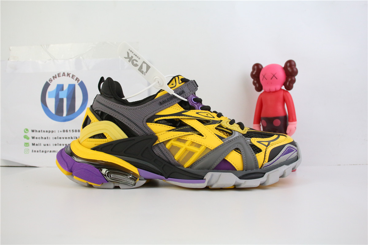 Balenciaga Track 2 Yellow And Black