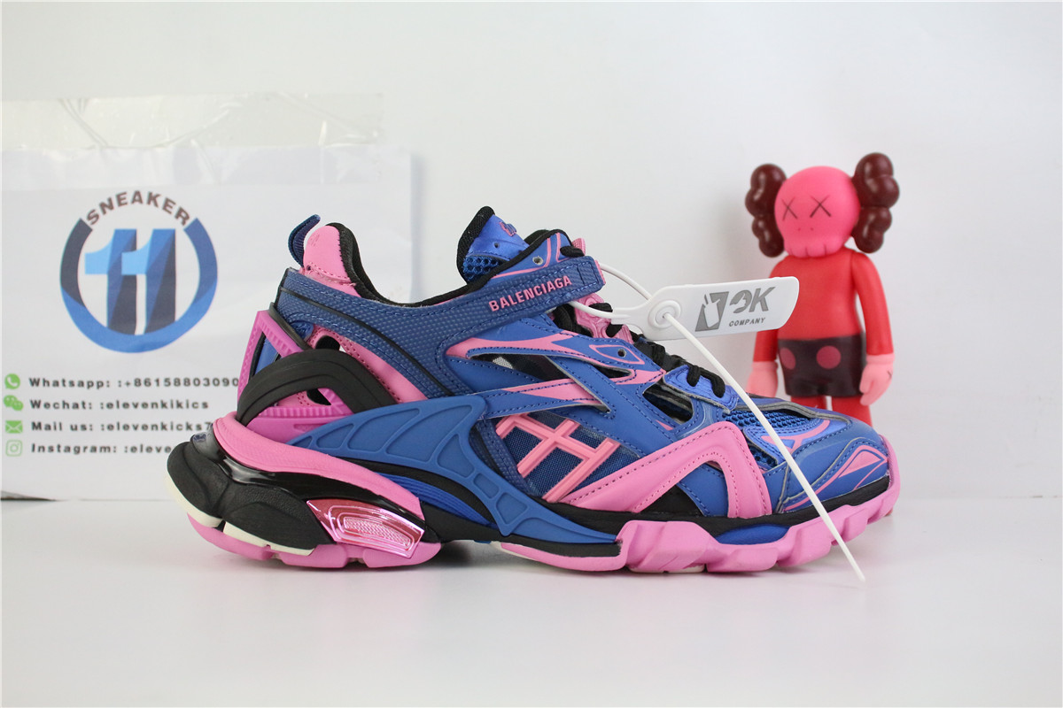 Balenciaga Track 2 Blue And Pink