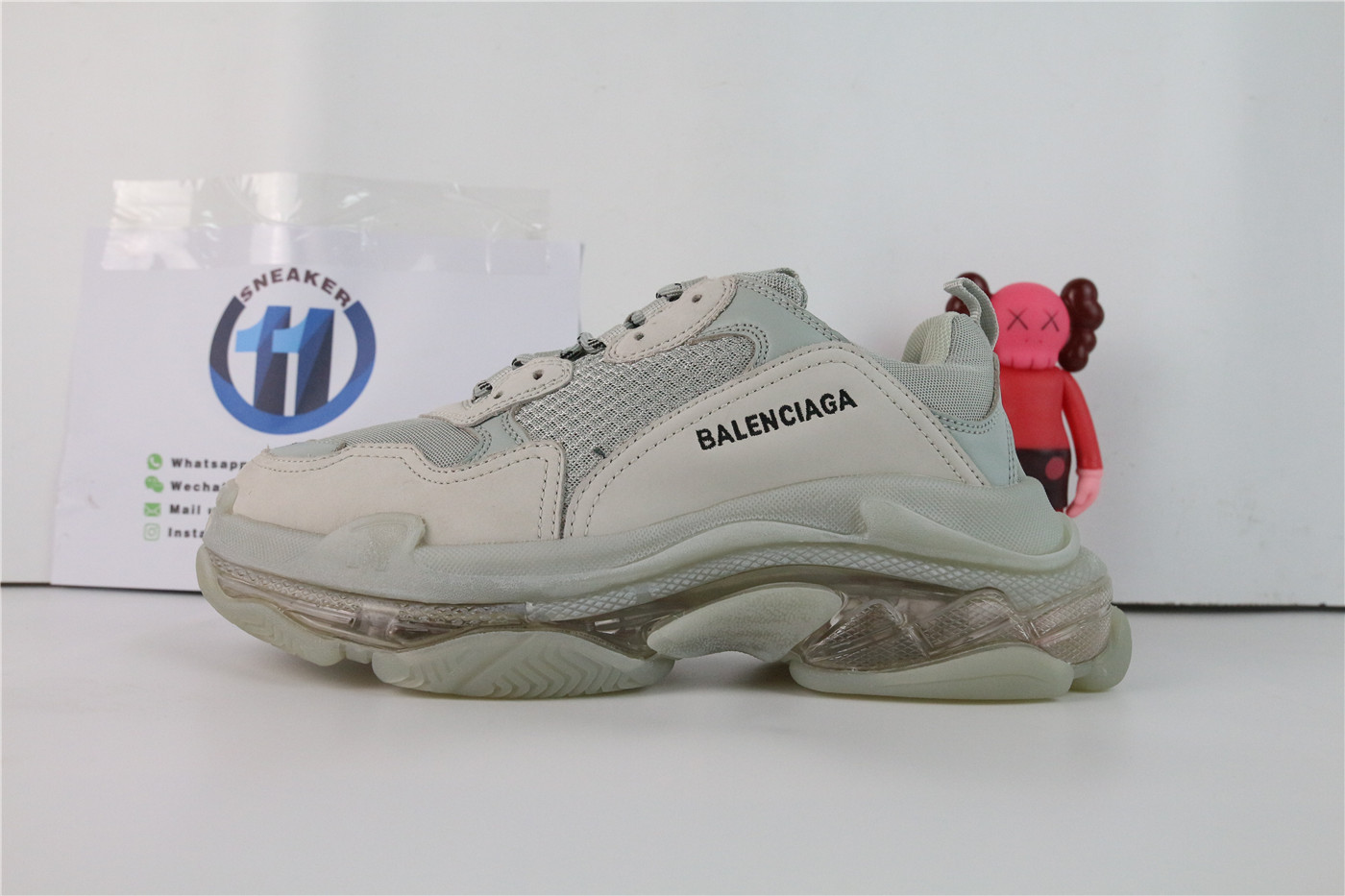 Balenciag Triple S Grey