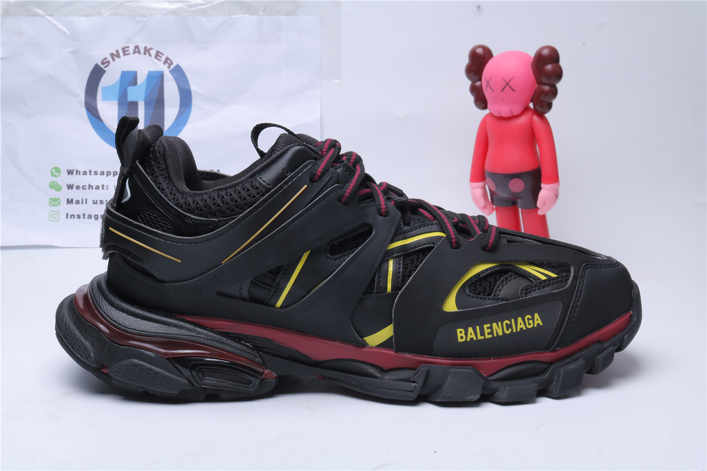 Balenciaga Track Black And Yellow