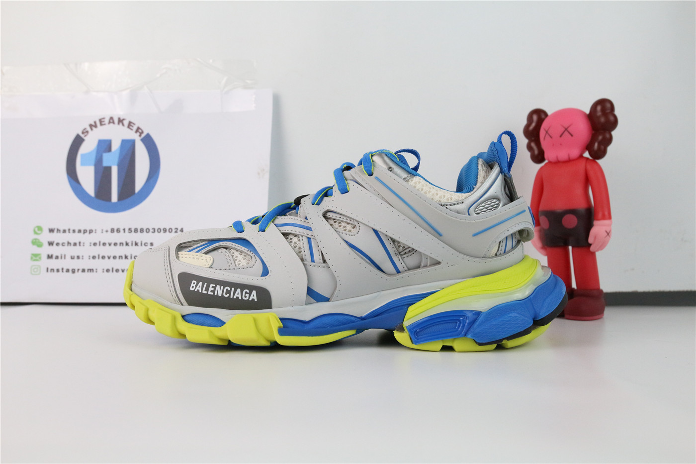 Balenciaga Track Black Yellow