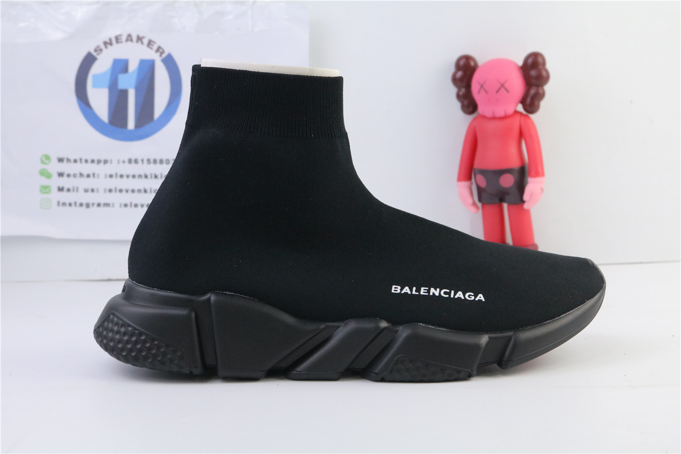Balenciage Speed Trainer Triple Black