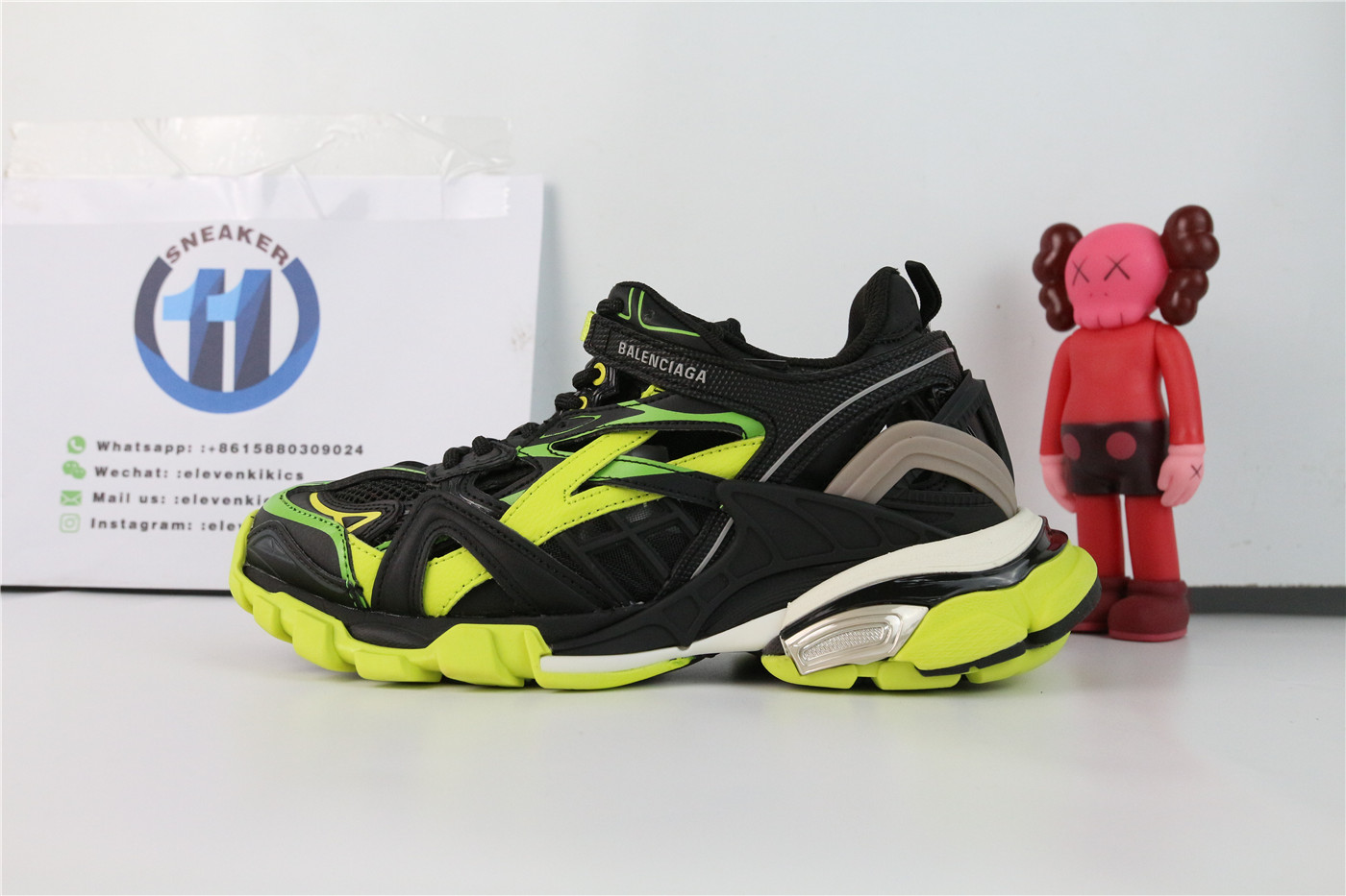 Balenciaga Track.2 Black Yellow