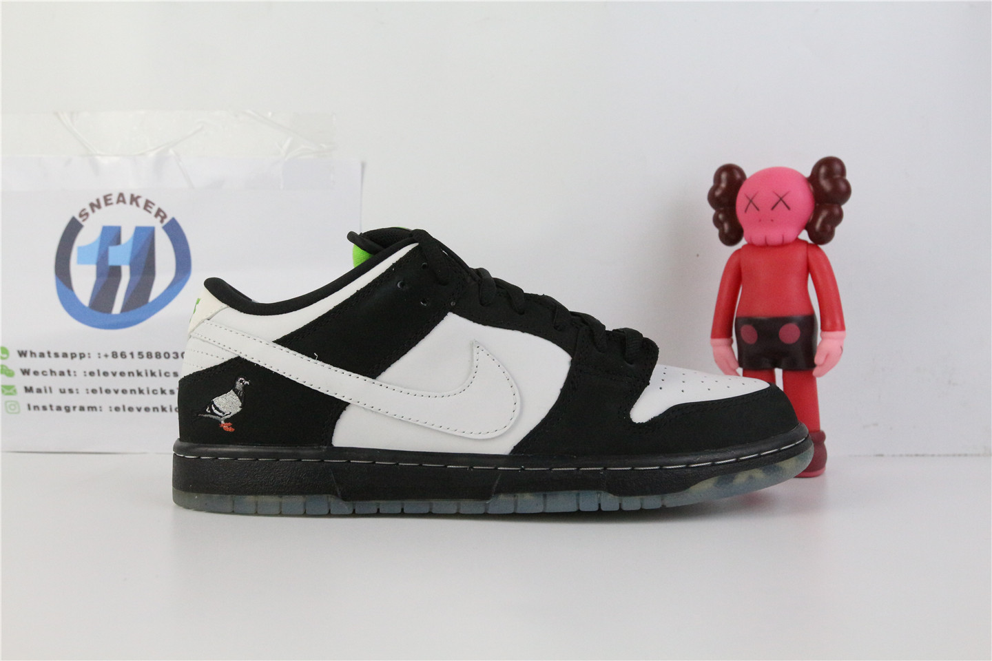 Nike SB Dunk Low Staple Panda Pigeon