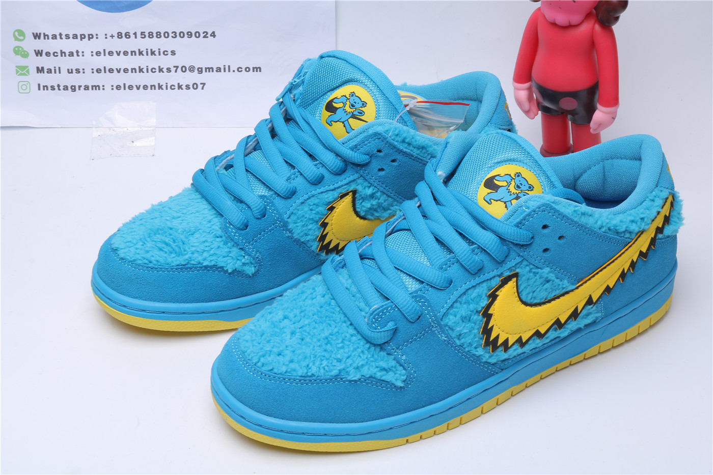 Nike SB Dunk Low Grateful Dead Bears Blue
