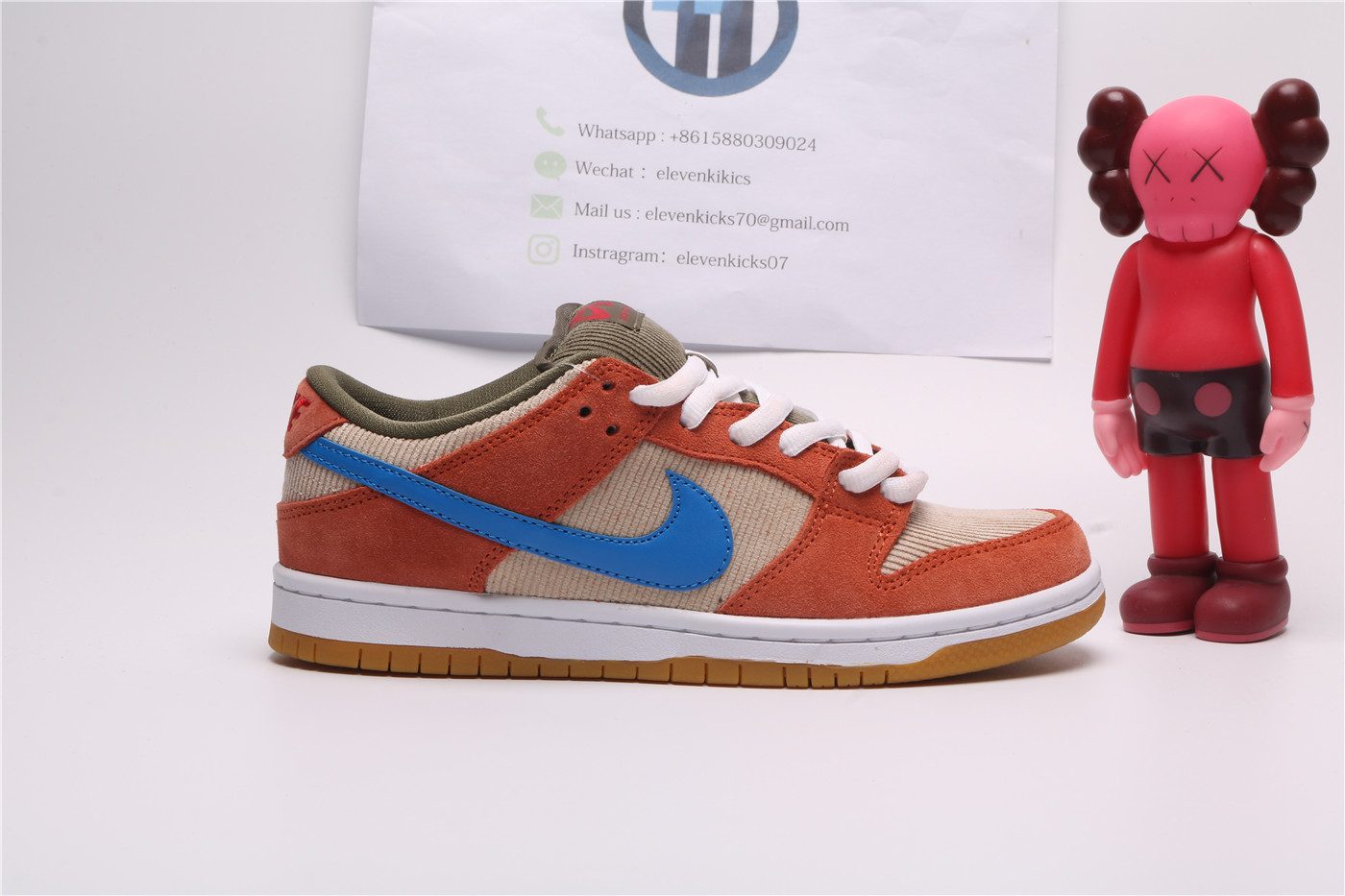 Nike SB Dunk Low Corduroy Dusty Peach