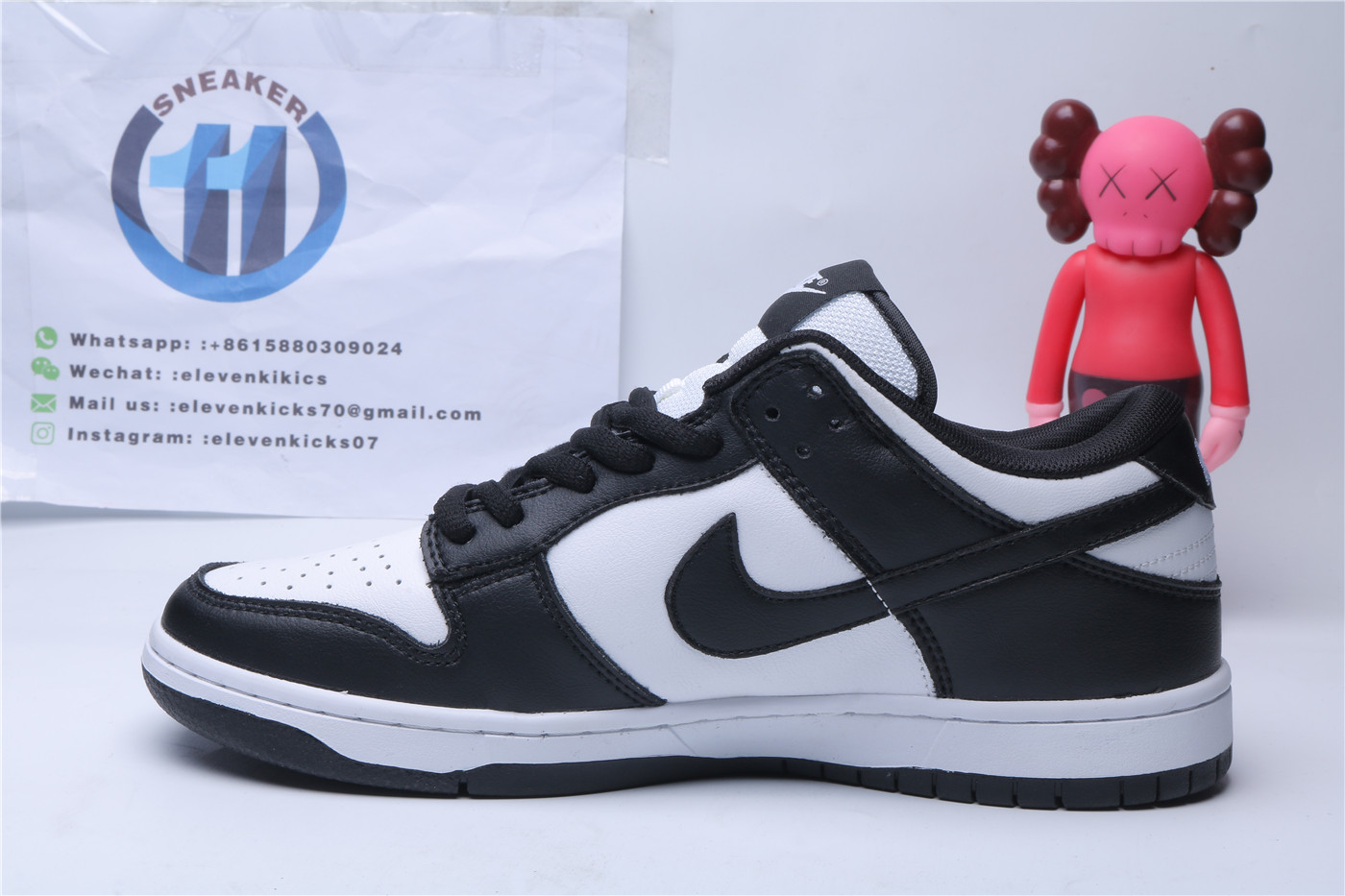 Nike Dunk Low Black White