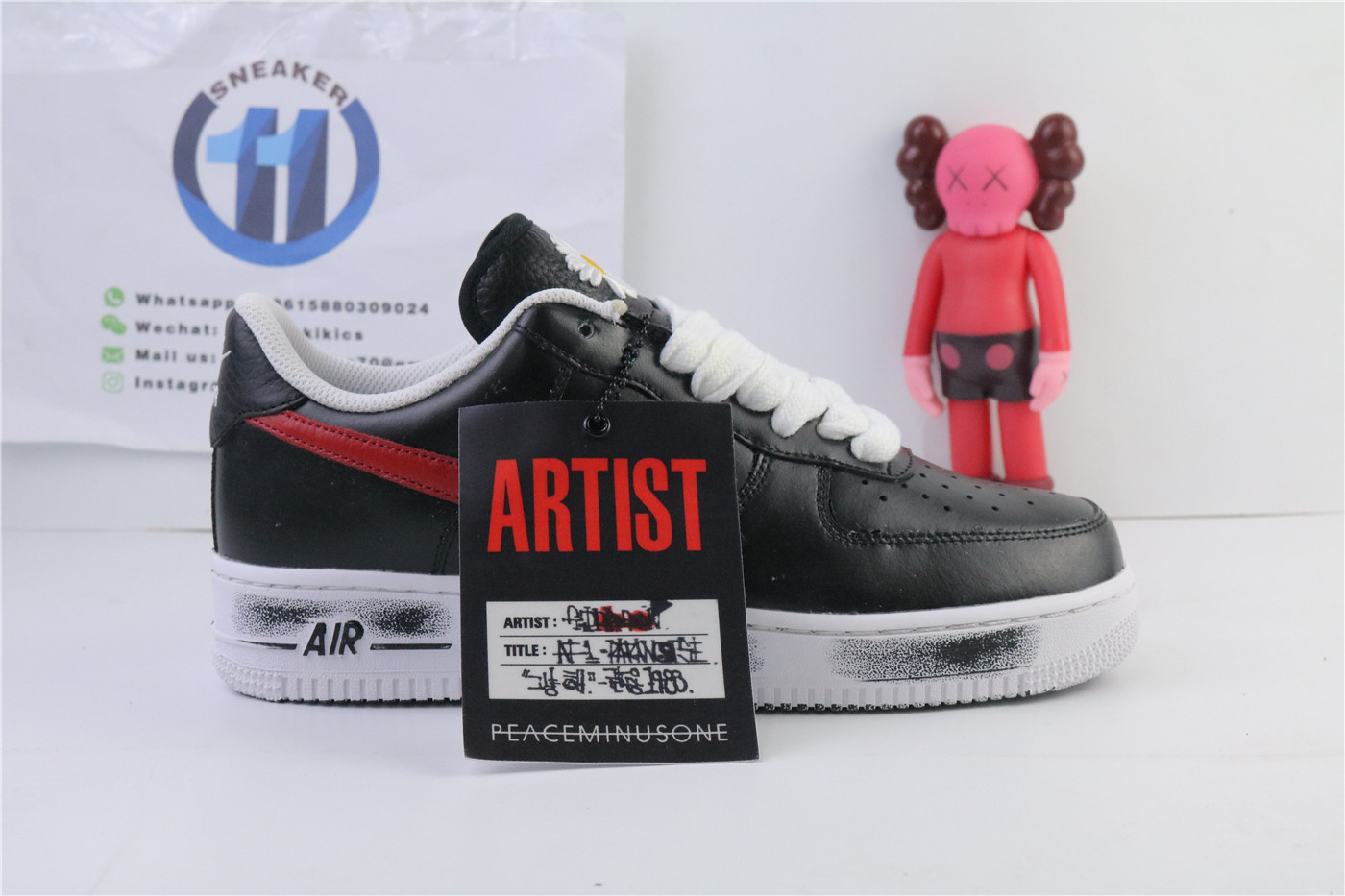 Nike Air Force 1 Low G-Dragon Peaceminusone Para-Noise...