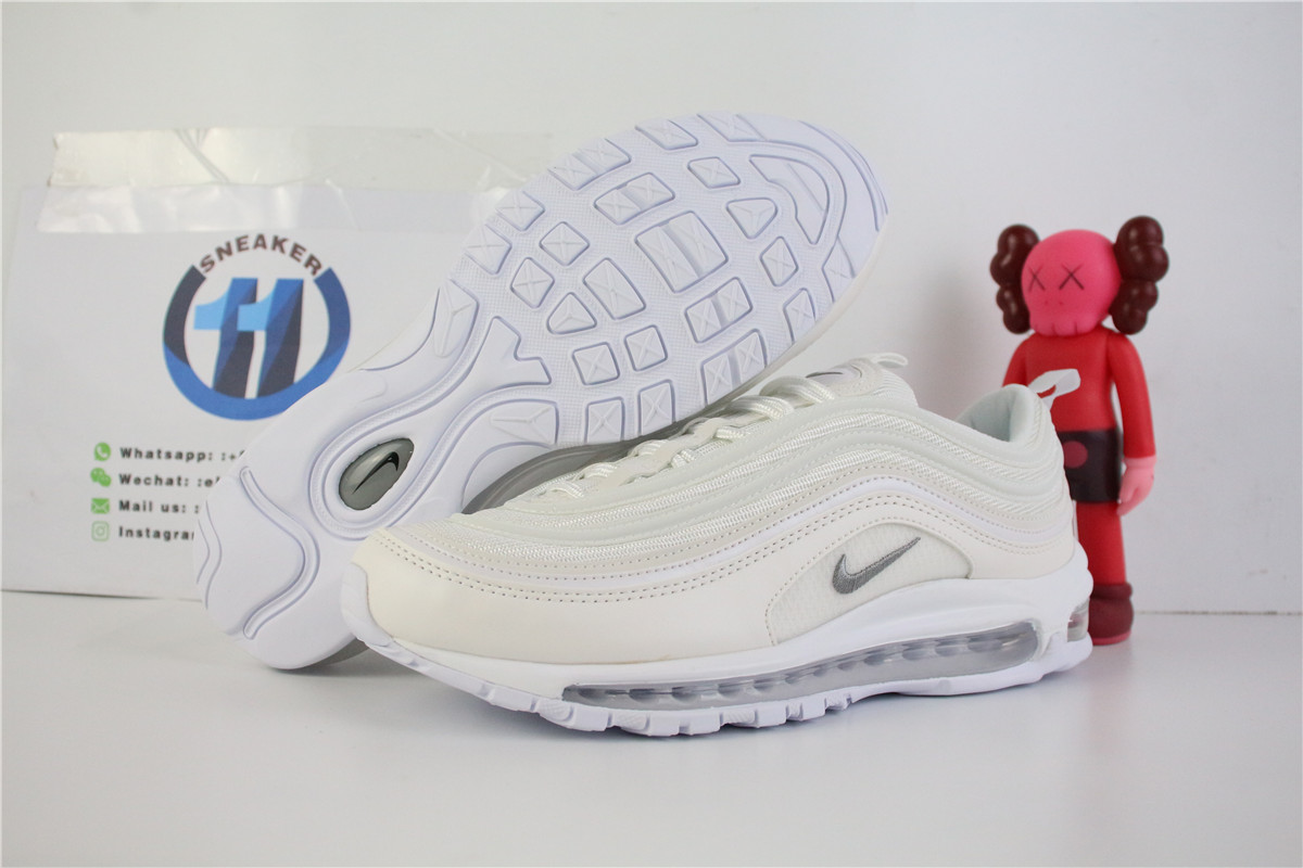 Nike Air Max 97 Triple White Wolf Grey