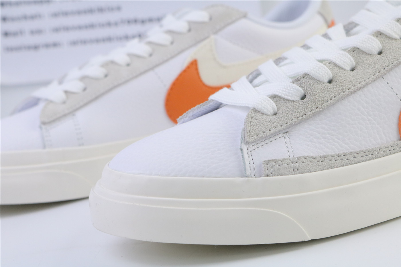 Sacai X Nike Blazer Low Orange